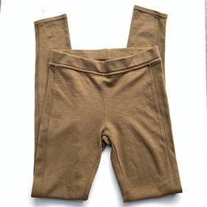 Michael Stars Olive Green Modal Leggings Small